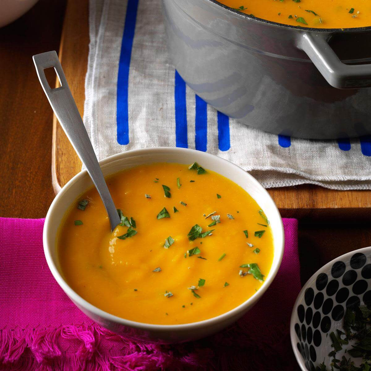 Vegetarian Fall Soup Recipes  Roasted Autumn Ve able Soup Recipe