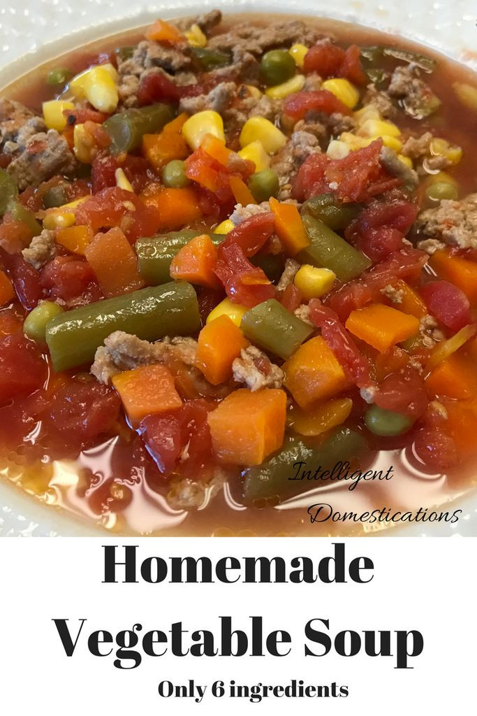 Vegetarian Fall Soup Recipes  Best 20 Homemade Ve able Soups ideas on Pinterest