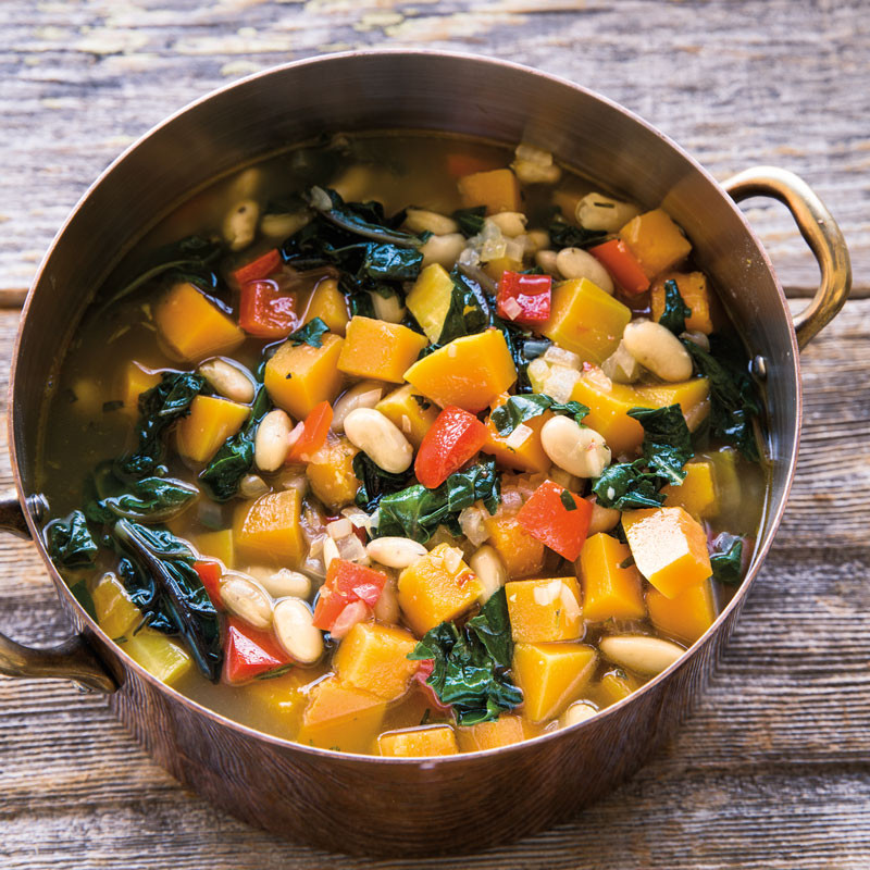 Vegetarian Fall Soup Recipes  Fall Ve able Soup