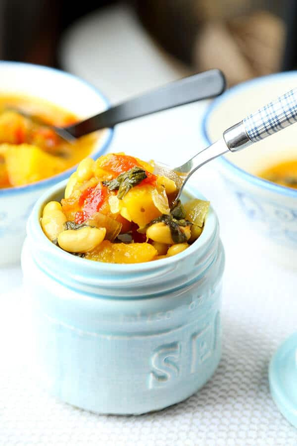 Vegetarian Fall Soup Recipes  Slow Cooker Ve able Soup Pickled Plum Food And Drinks