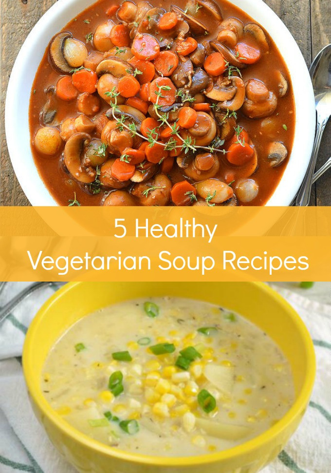 Vegetarian Fall Soup Recipes  5 Healthy Ve arian Soup Recipes for Fall SoFabFood