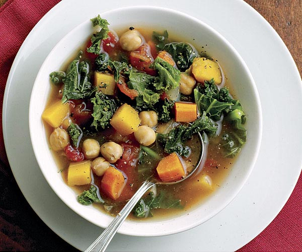 Vegetarian Fall Soup Recipes  Autumn Ve able Soup Recipe FineCooking