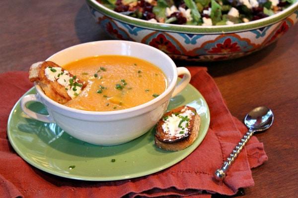 Vegetarian Fall Soup Recipes  Autumn Ve able Soup Recipe Girl