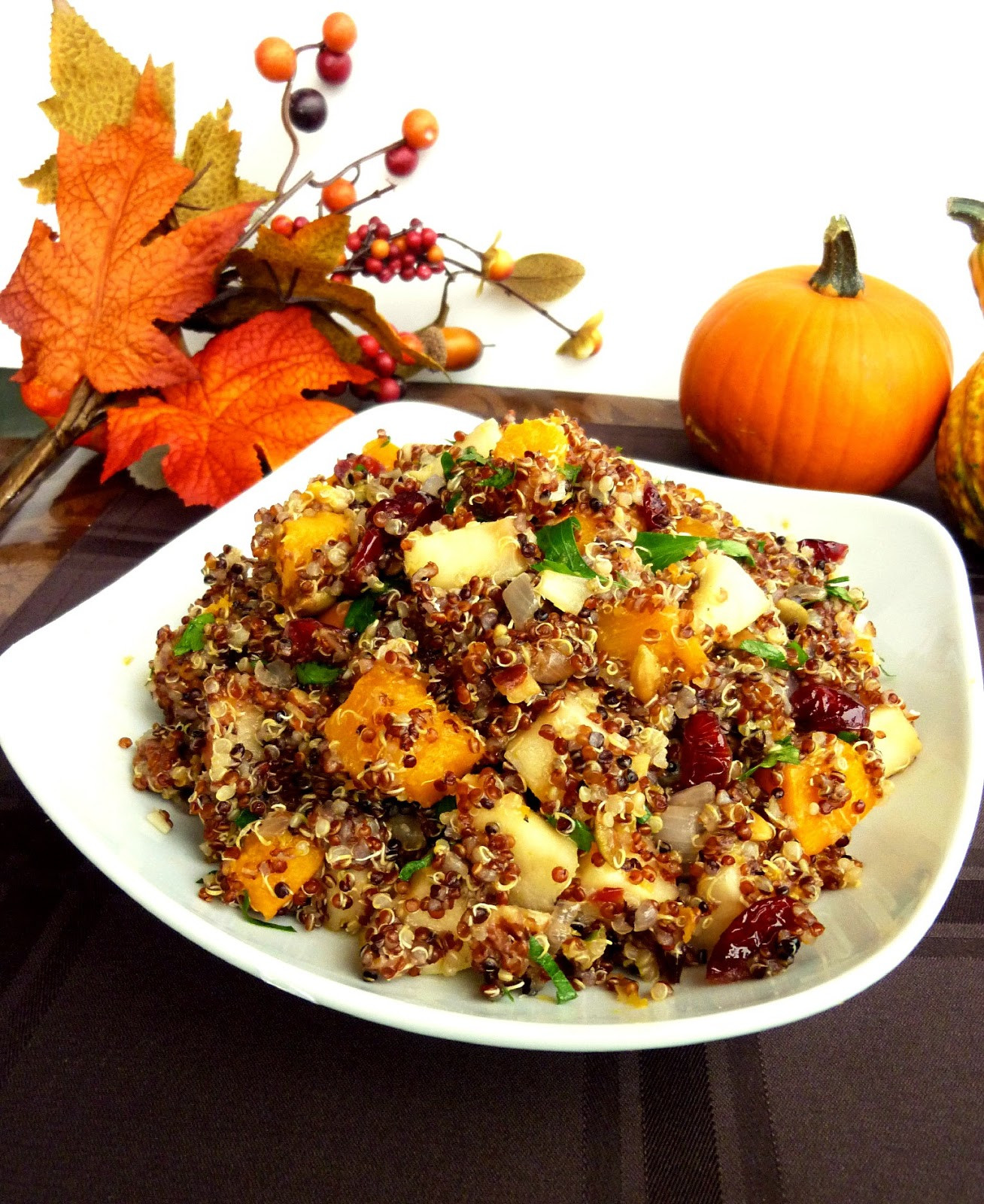 Vegetarian Main Dishes Thanksgiving  Vanilla & Spice Recipes for a Ve arian Thanksgiving