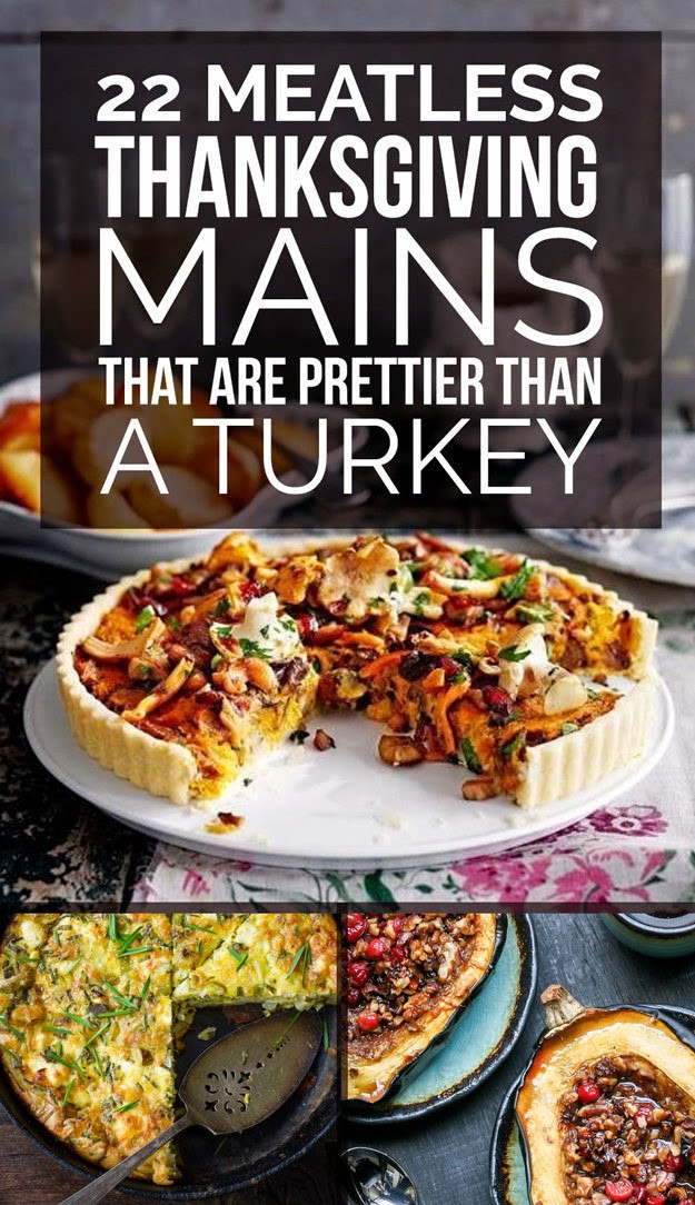 Vegetarian Main Dishes Thanksgiving  Organic 22 Delicious Meatless Main Dishes To Make For