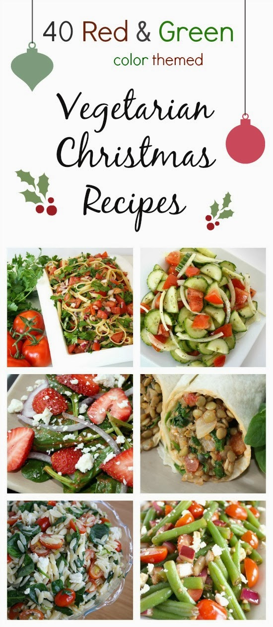 Vegetarian Recipes For Christmas  The Garden Grazer Ve arian Christmas Recipes Color
