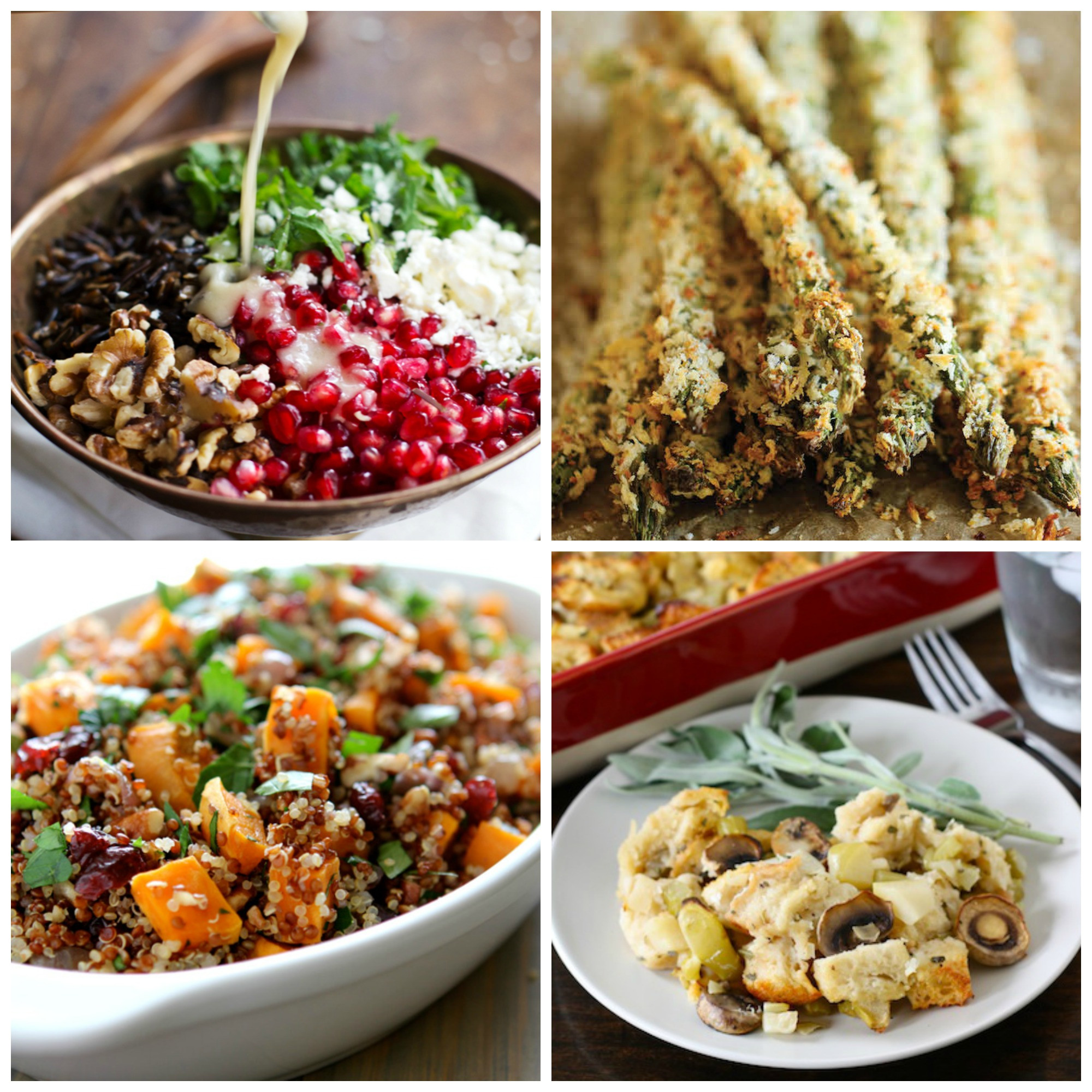 Vegetarian Side Dishes For Thanksgiving  Ve arian Thanksgiving dishes that even meat lovers will