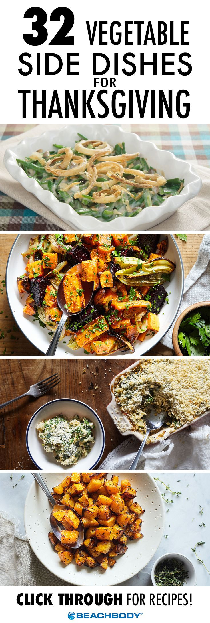 Vegetarian Sides For Thanksgiving  837 best images about Healthy Recipes on Pinterest