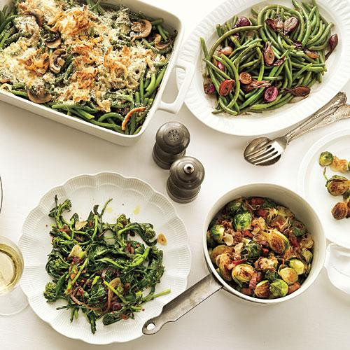Vegetarian Sides For Thanksgiving  Ve able Recipes for Thanksgiving