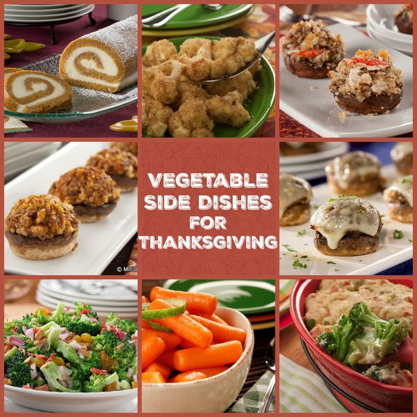 Vegetarian Sides For Thanksgiving  100 Ve able Side Dishes for Thanksgiving