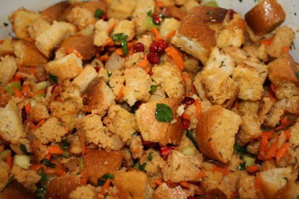 Vegetarian Stuffing Recipes Thanksgiving  Thanksgiving Vegan Stuffing