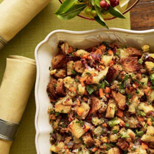 Vegetarian Stuffing Recipes Thanksgiving  Boston Market Copycat Recipes Ve able Stuffing
