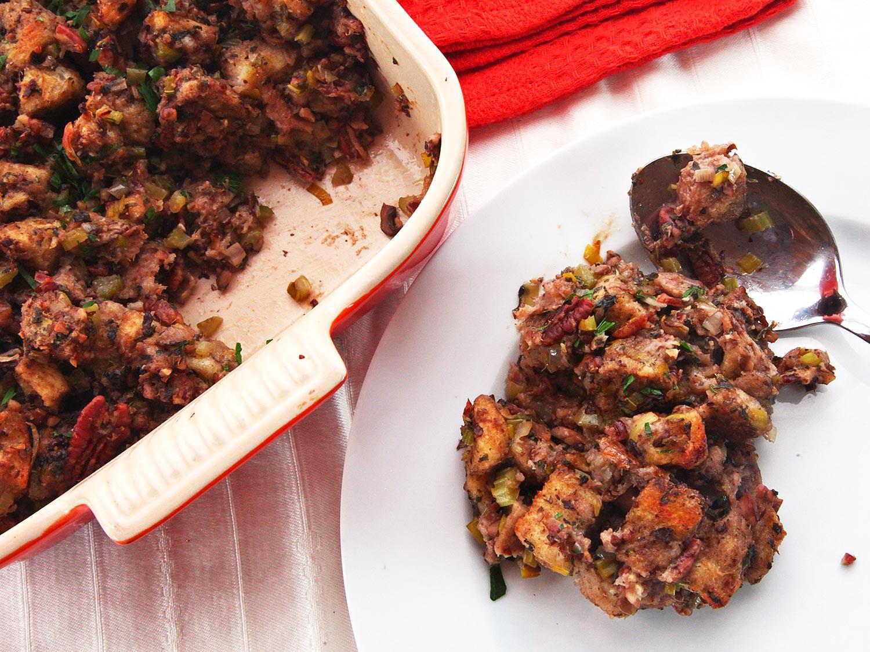 Vegetarian Stuffing Recipes Thanksgiving  The Food Lab How to Make Vegan Stuffing That Really Rocks