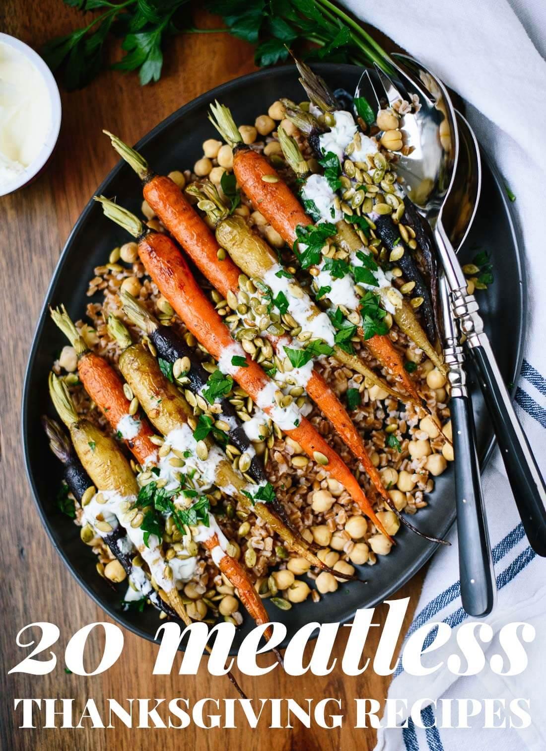 Vegetarian Thanksgiving Dinner Recipes  20 Ve arian Thanksgiving Recipes Cookie and Kate