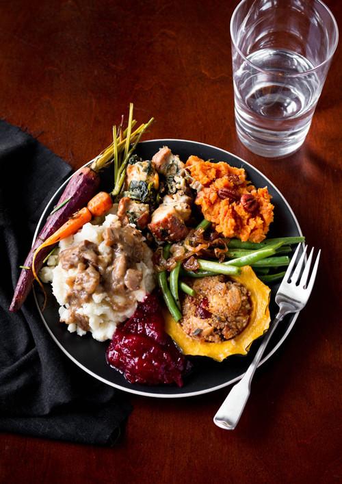Vegetarian Thanksgiving Dinner Recipes  A Ve arian Thanksgiving Menu