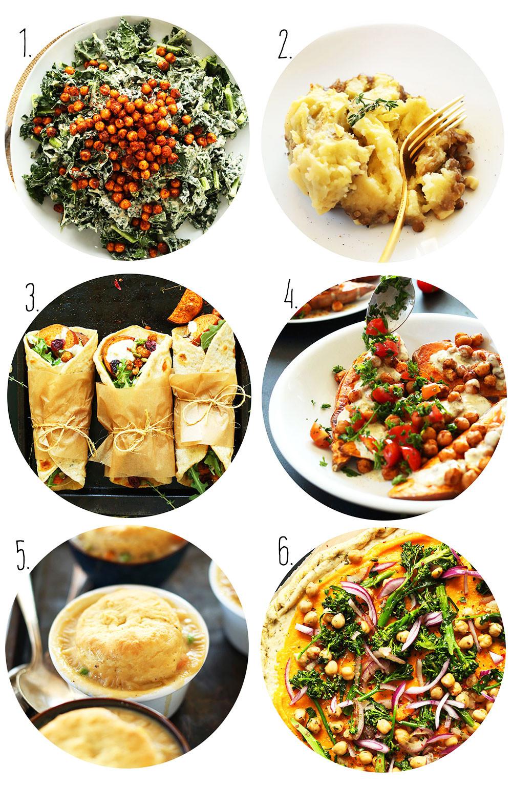 Vegetarian Thanksgiving Dinner Recipes  Vegan Thanksgiving Recipes