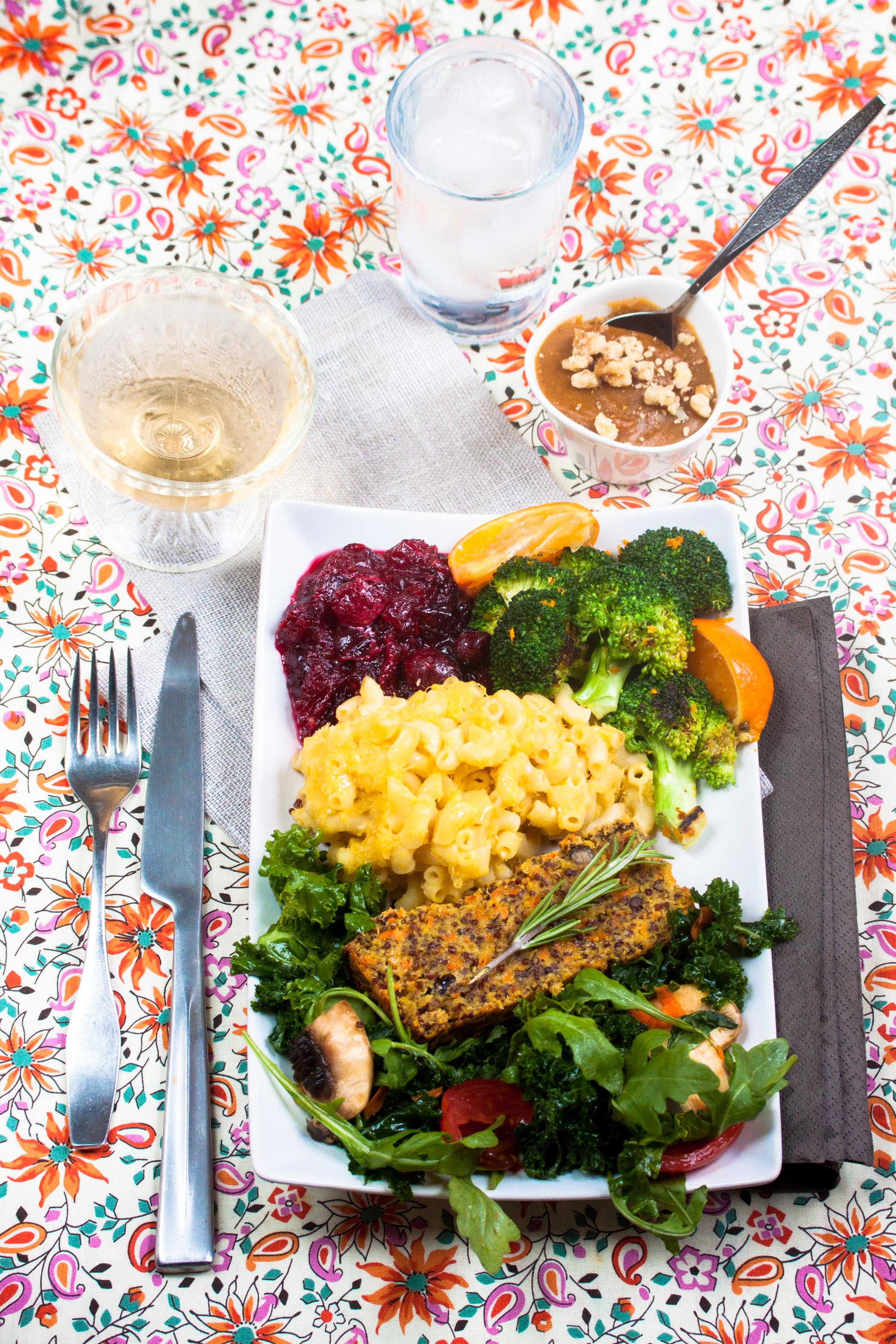 Vegetarian Thanksgiving Dinner Recipes  Gluten Free Vegan Thanksgiving Menu