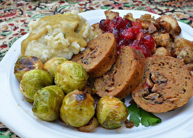 Vegetarian Thanksgiving Entree  Vegan and Ve arian Thanksgiving Restaurants in Los Angeles
