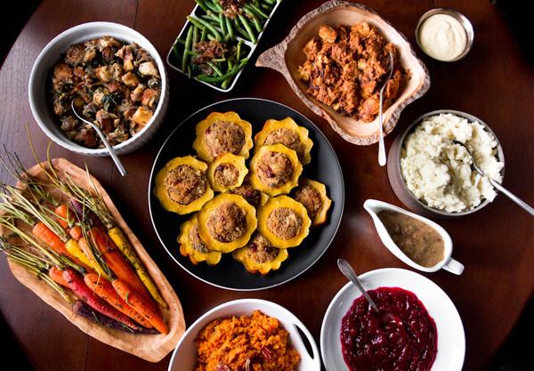 Vegetarian Thanksgiving Food  A Ve arian Thanksgiving Menu