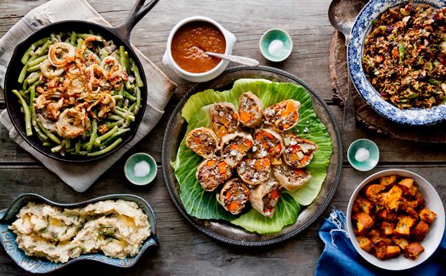 Vegetarian Thanksgiving Food  A Ve arian Thanksgiving Menu 3 Day Game Plan