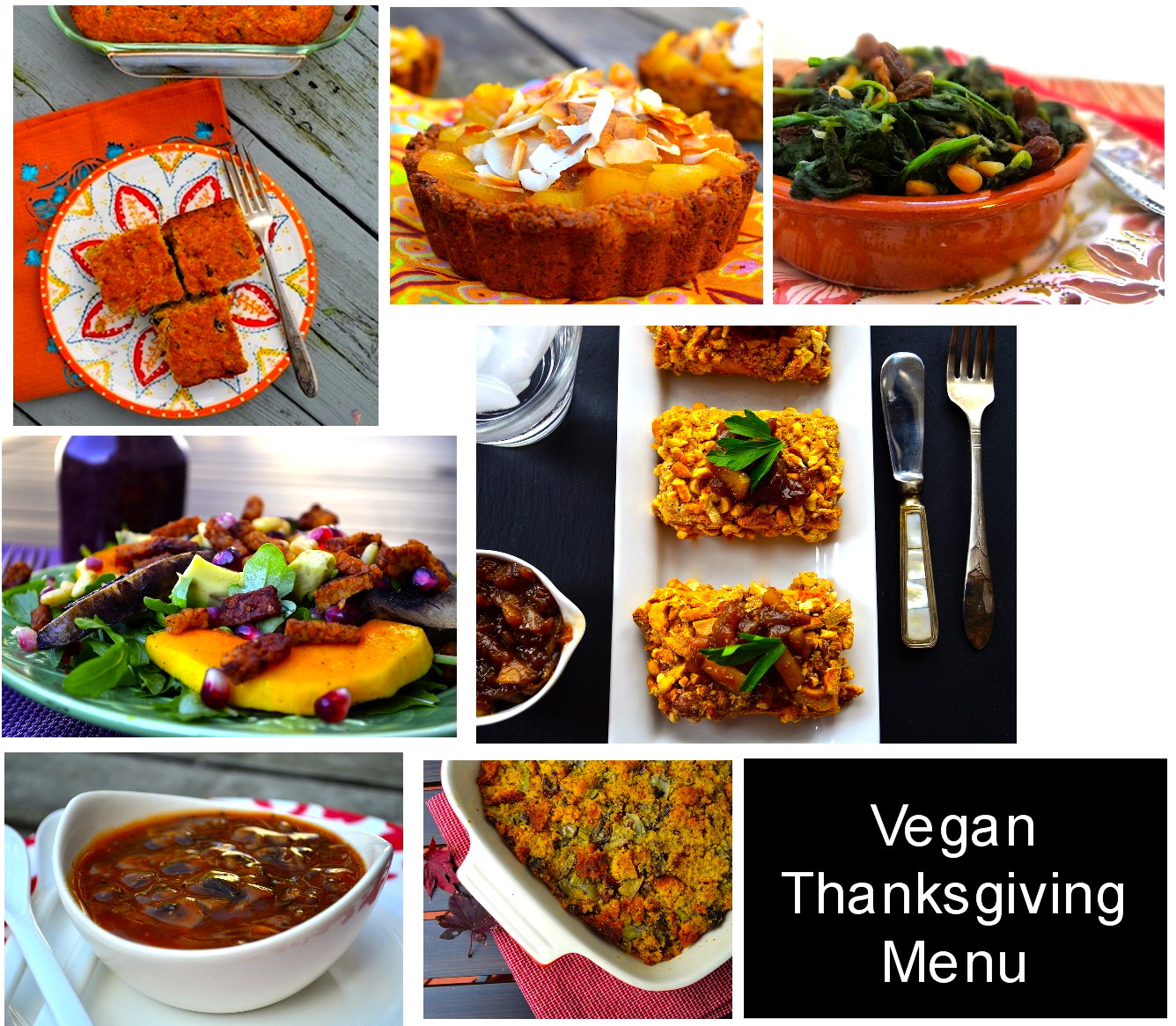 Vegetarian Thanksgiving Menus  Put It All To her Vegan Thanksgiving Menu May I Have