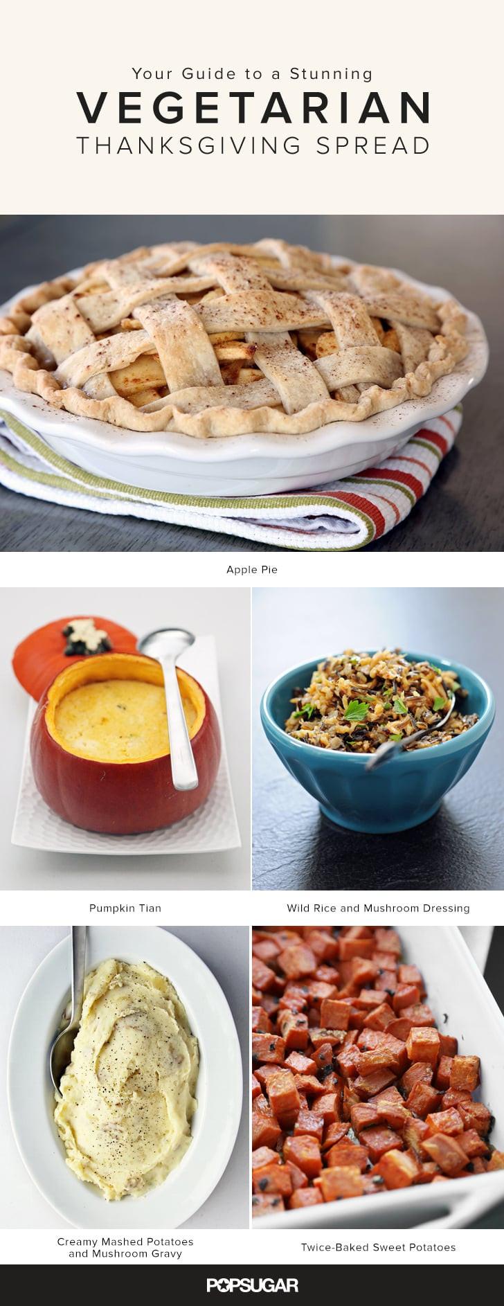 Vegetarian Thanksgiving Menus  Ve arian Thanksgiving Menu and Recipes