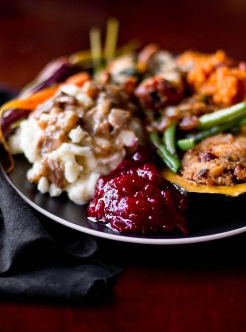 Vegetarian Thanksgiving Menus  A Ve arian Thanksgiving Menu