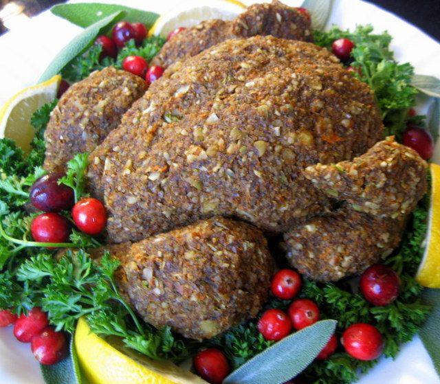 Vegetarian Turkey Thanksgiving  116 best images about Food Ve arian Sausages Mock