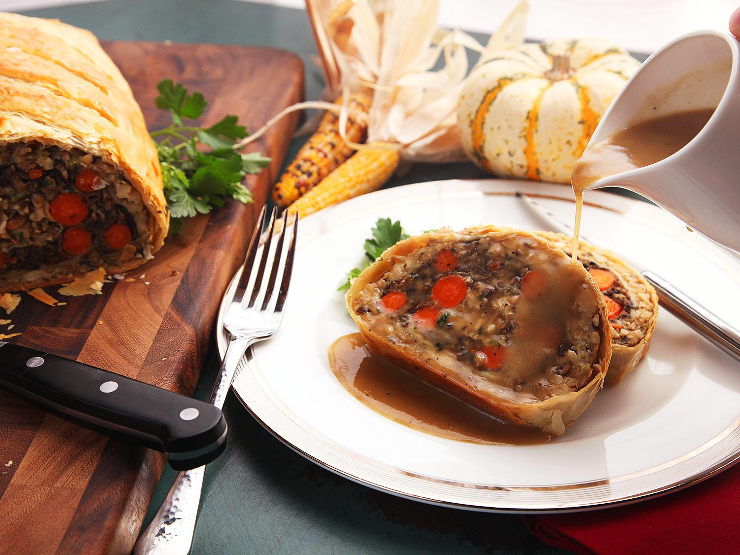 Vegetarian Turkey Thanksgiving  The Food Lab Introducing Ve ables Wellington the Plant