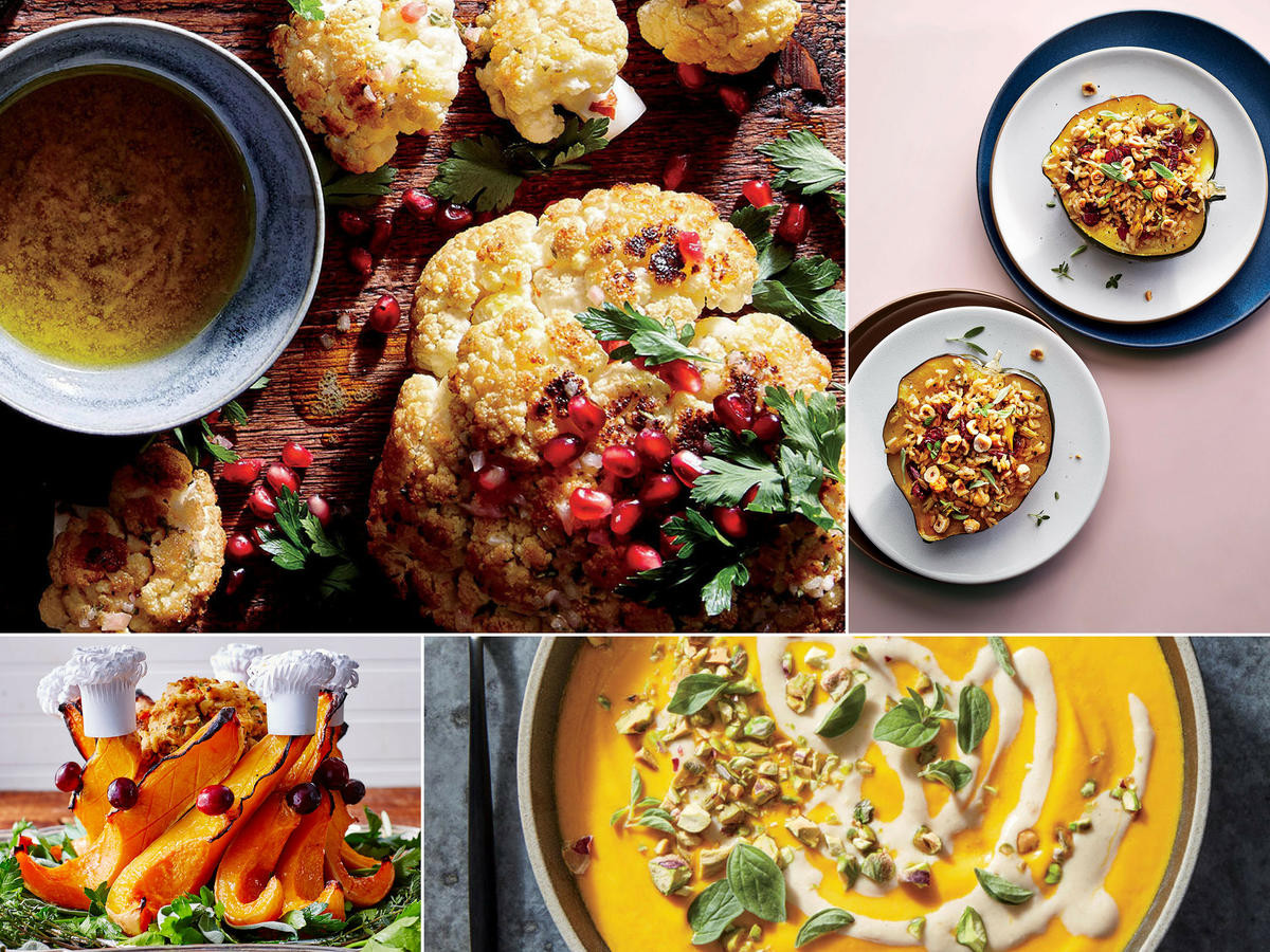 Vegetarian Turkey Thanksgiving  Vegan Thanksgiving Menu Recipes and Ideas Cooking Light