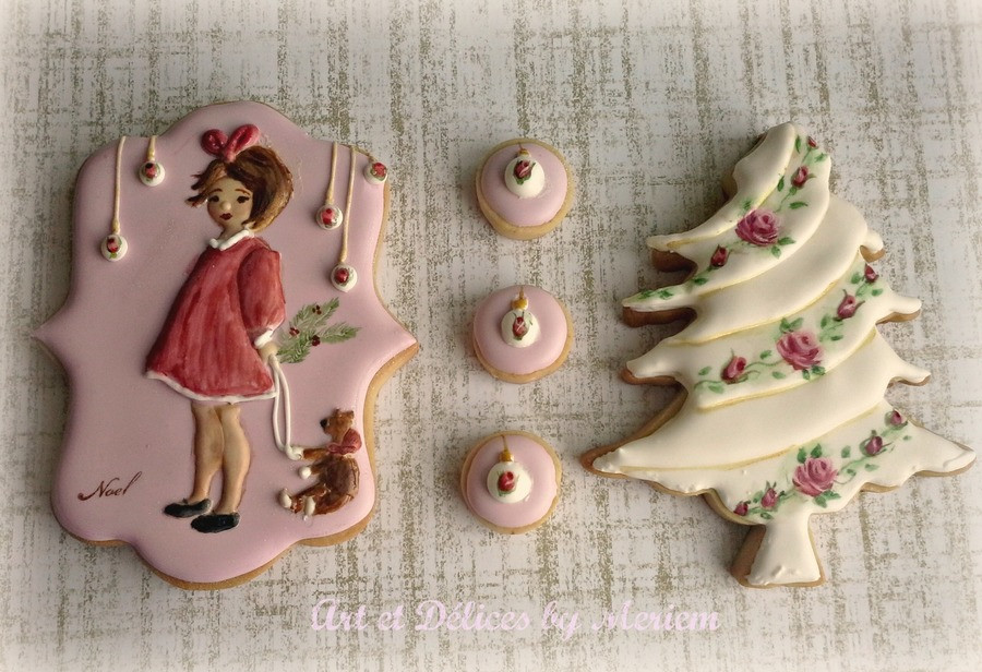 Vintage Christmas Cookies  Vintage Christmas Cookies CakeCentral
