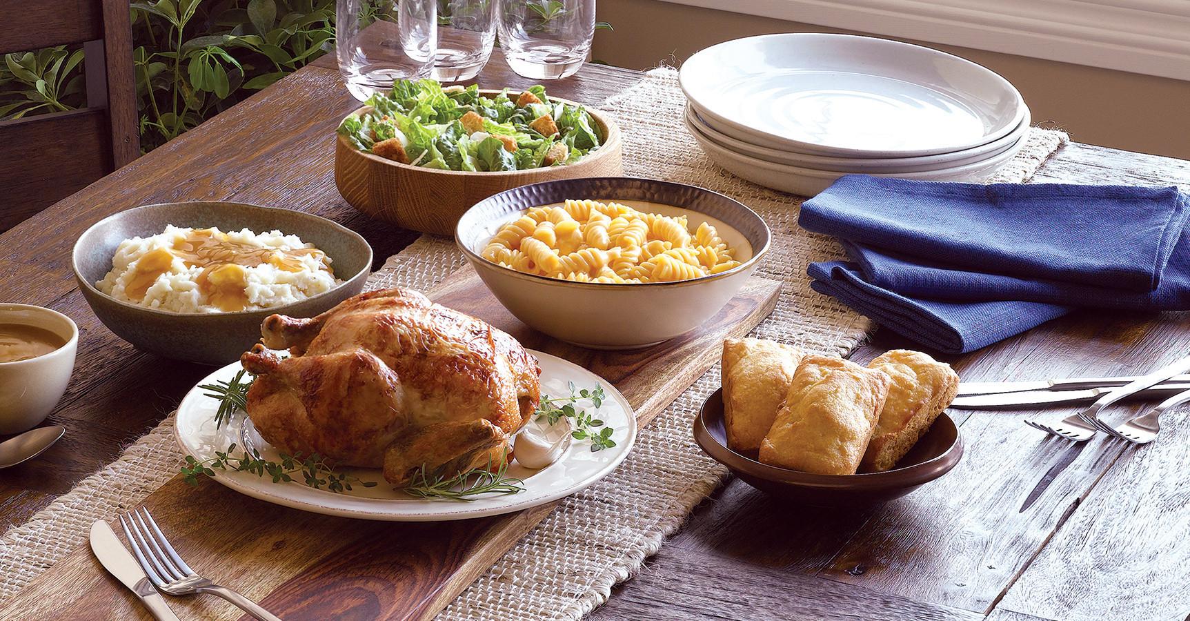 Vons Thanksgiving Dinner 2019  BOSTON MARKET