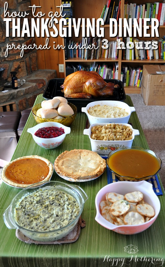 Vons Thanksgiving Dinner 2019  How to Get Thanksgiving Dinner Prepared in Under 3 Hours