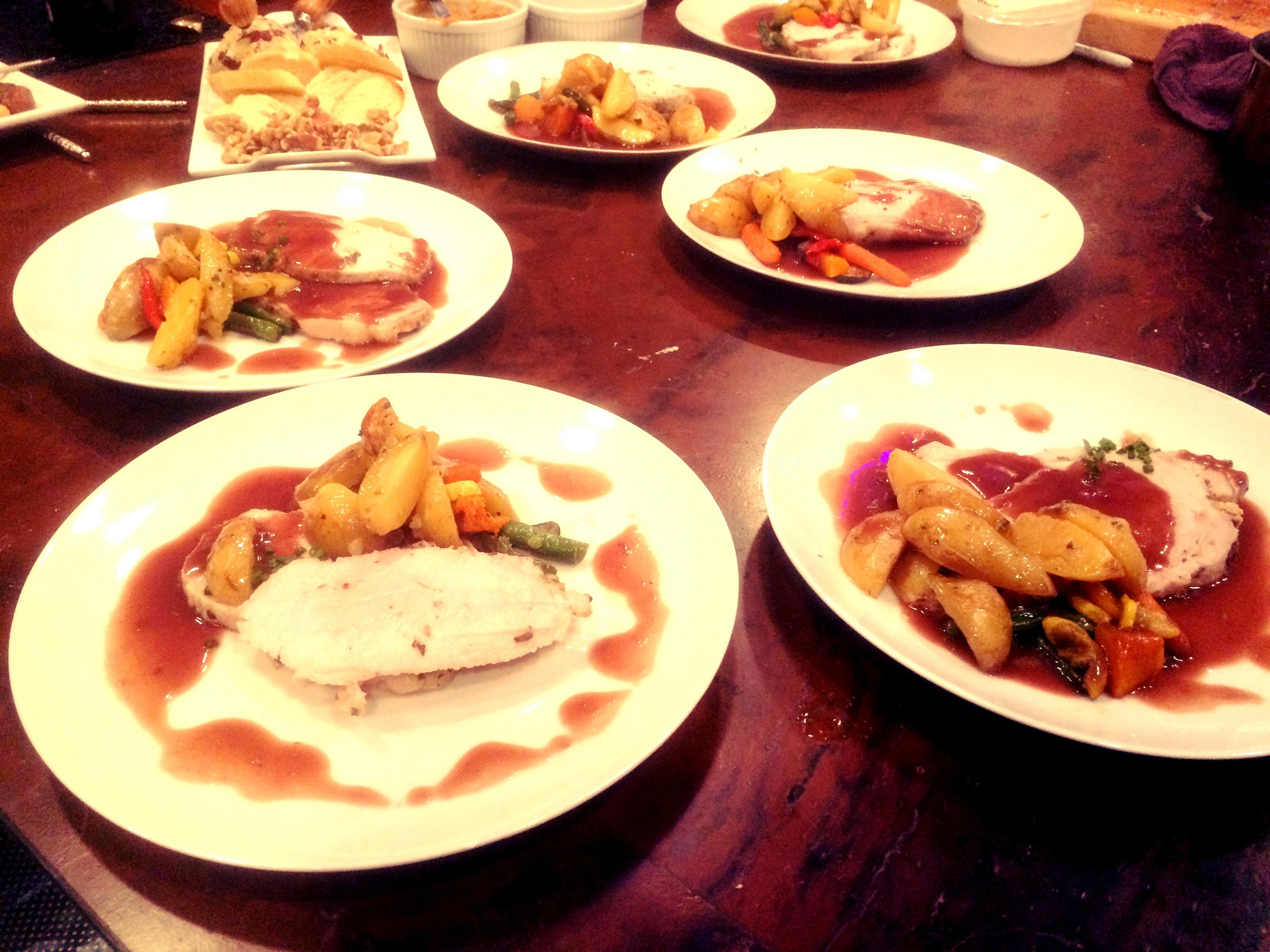 Vons Thanksgiving Dinner 2019  Christmas Dinner Party for 10