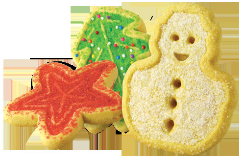 Voortman Christmas Cookies  Assorted Festive