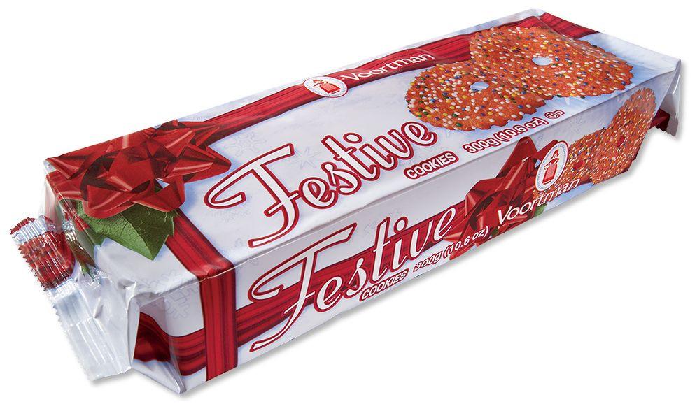 Voortman Christmas Cookies  Christmas Festive Red Cookies Voortman Cookies