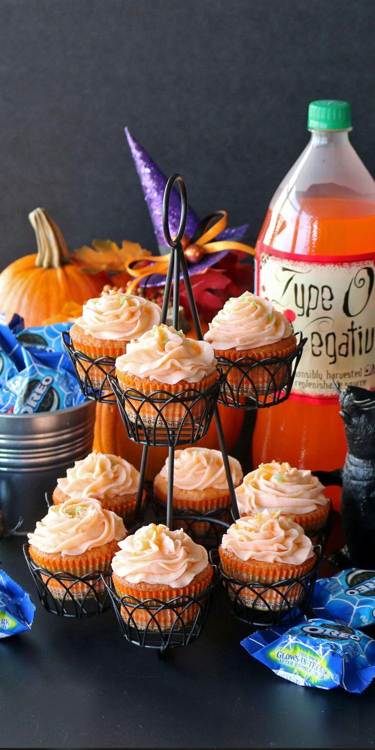 Walmart Halloween Cupcakes  Fanta Orange Cupcakes with Pop Rocks Recipe