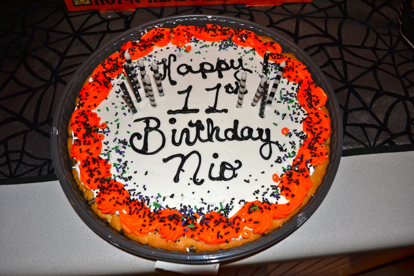 Walmart Halloween Cupcakes  Life & Home at 2102 Nio s 11th Halloween Birthday Party