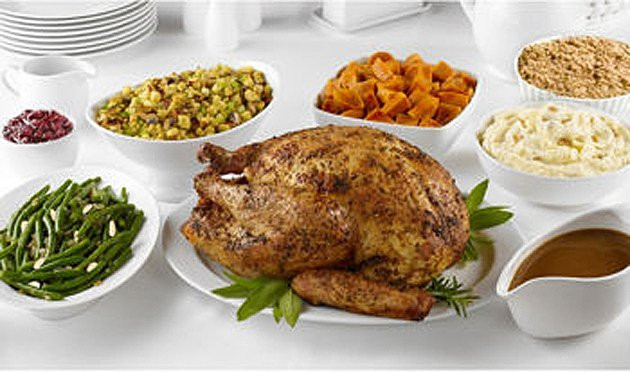 Walmart Pre Cooked Thanksgiving Dinners  Fully Cooked Thanksgiving Dinner In A Box How Lazy Have