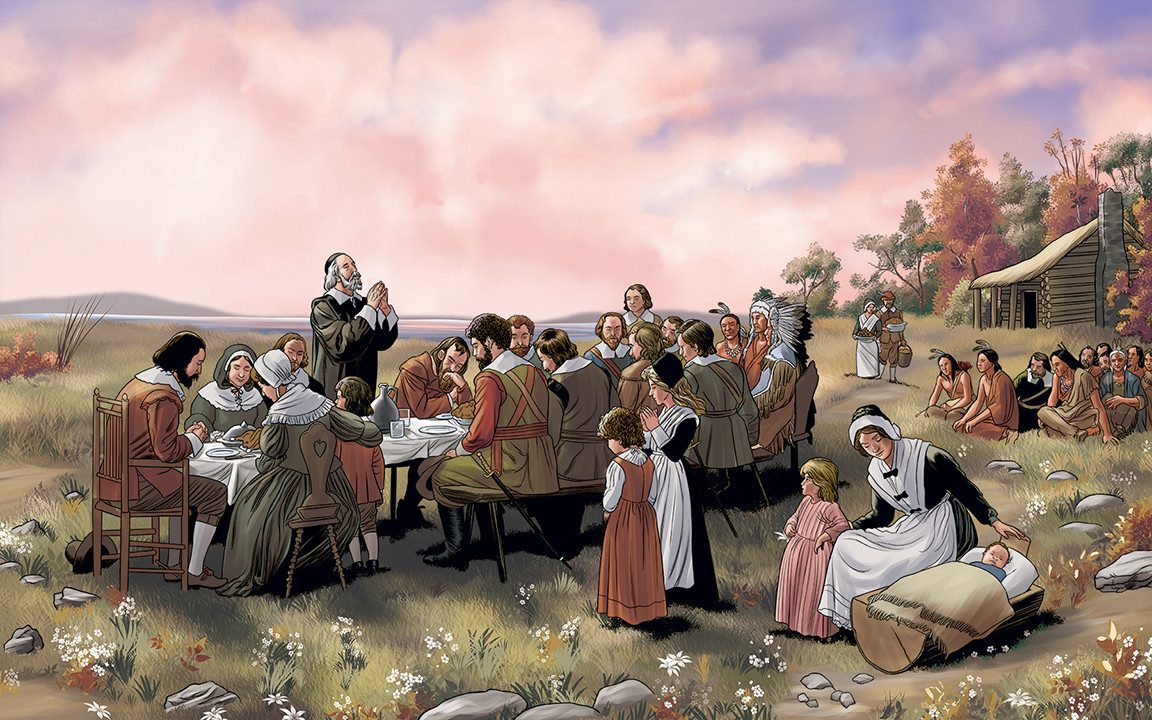 Was There Turkey At The First Thanksgiving  Researching America The New World From the Beginning