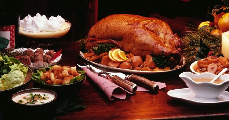 Was Turkey Served At The First Thanksgiving  Original Food Items Served In The First Thanksgiving