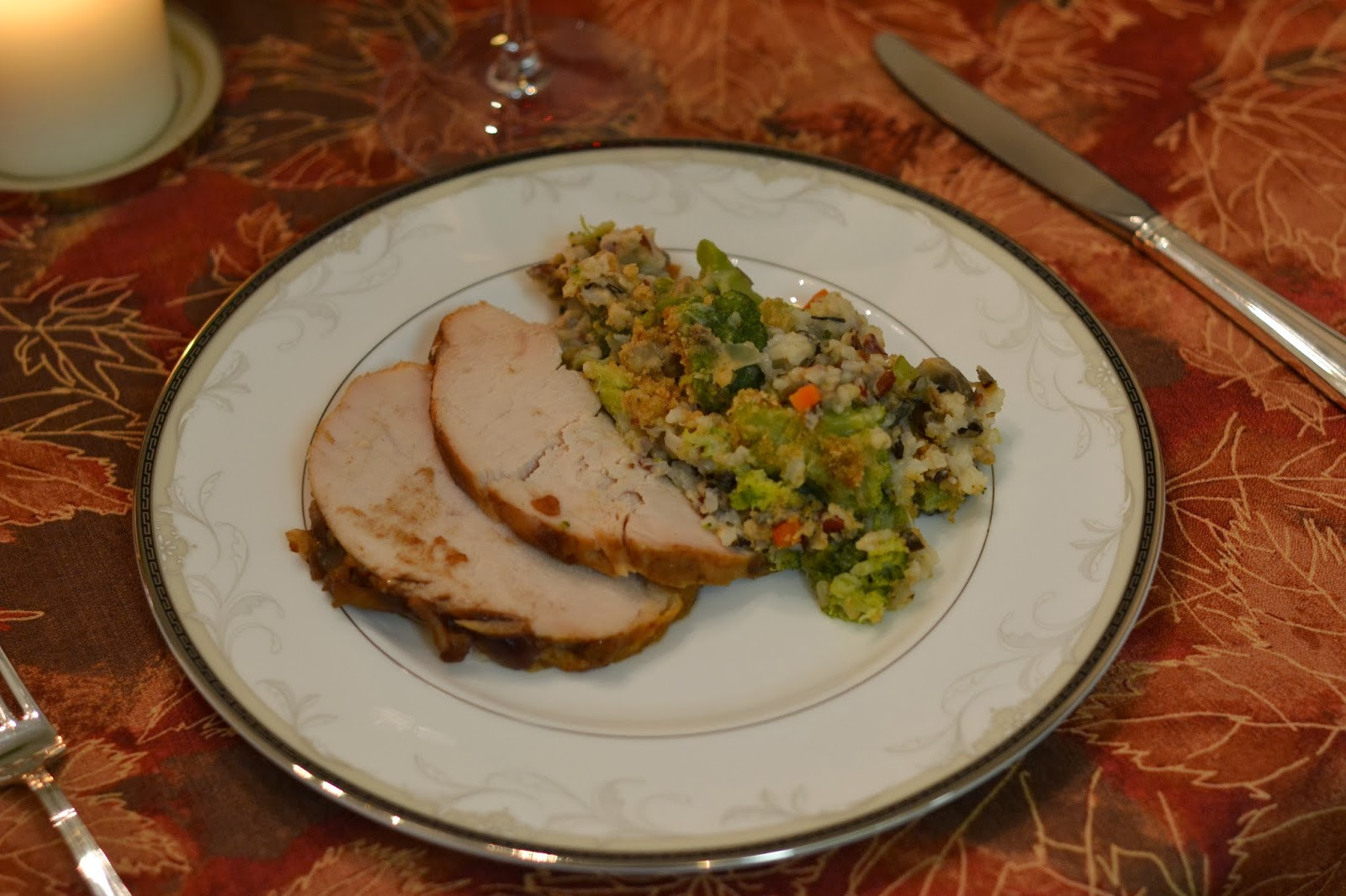 Was Turkey Served At The First Thanksgiving  the eibls Our First Thanksgiving