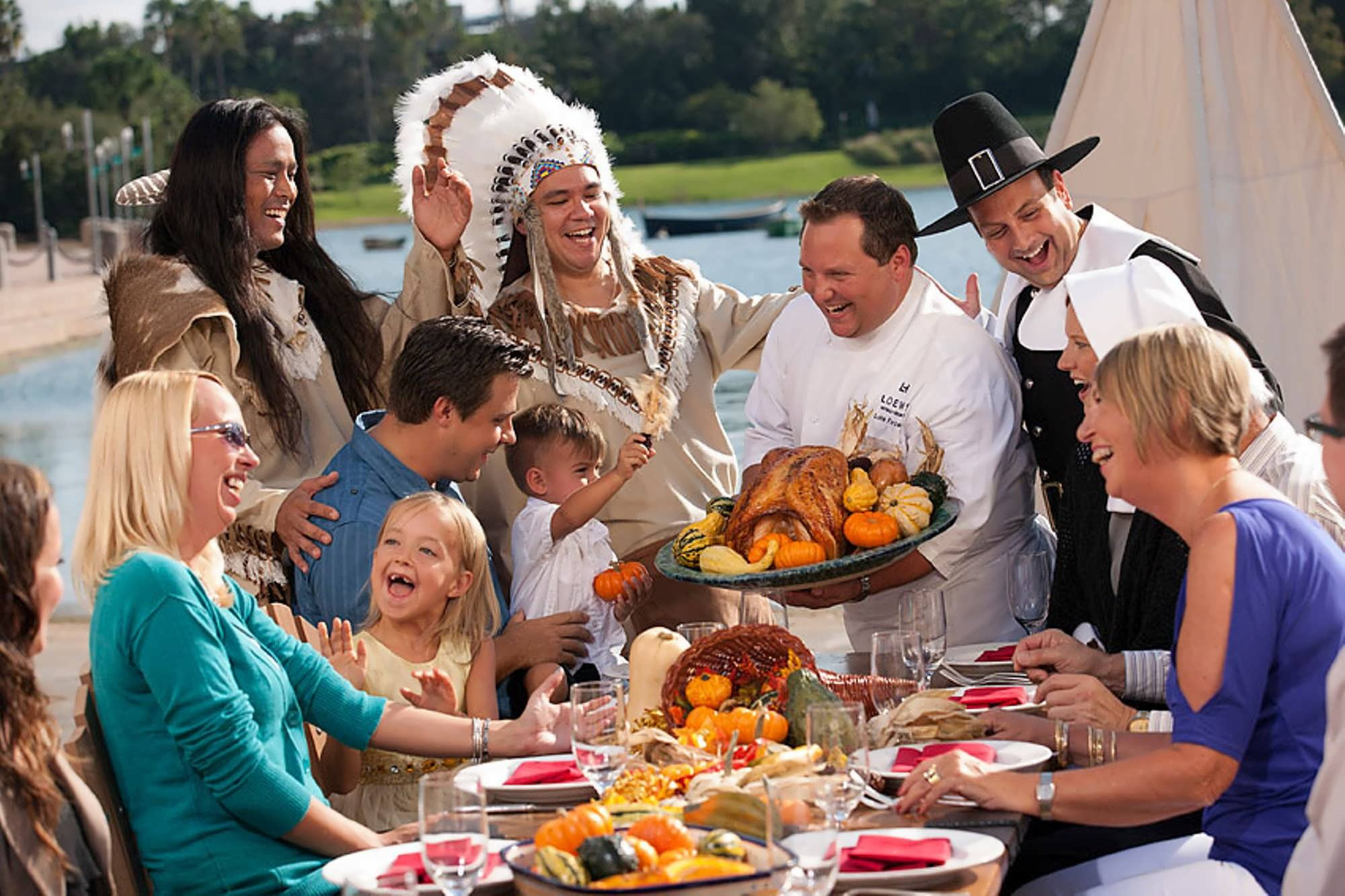 Was Turkey Served At The First Thanksgiving  Universal s on site hotels kick off the 2012 holiday