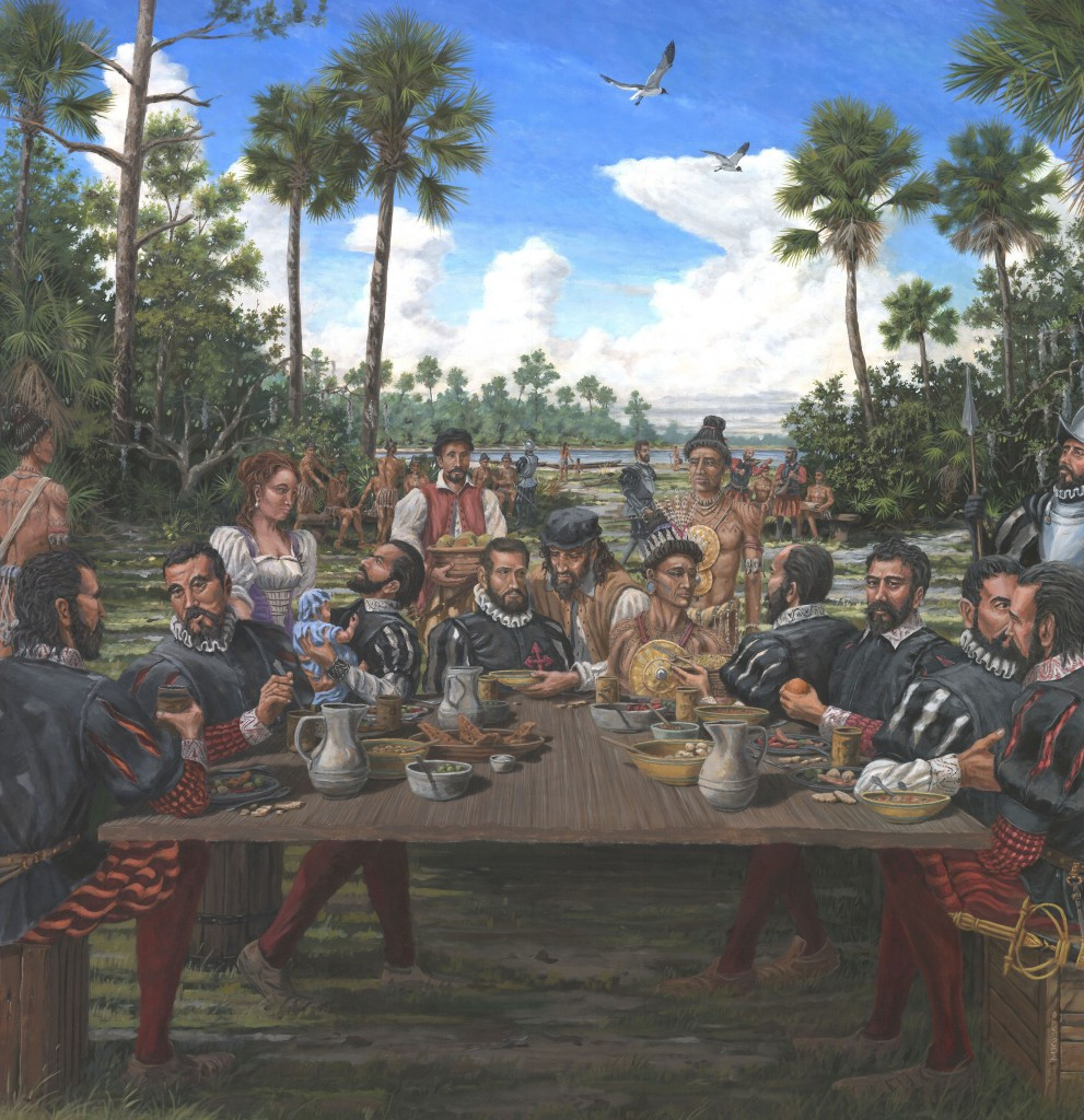 Was Turkey Served At The First Thanksgiving  The 'real' first Thanksgiving had no turkey or pilgrims