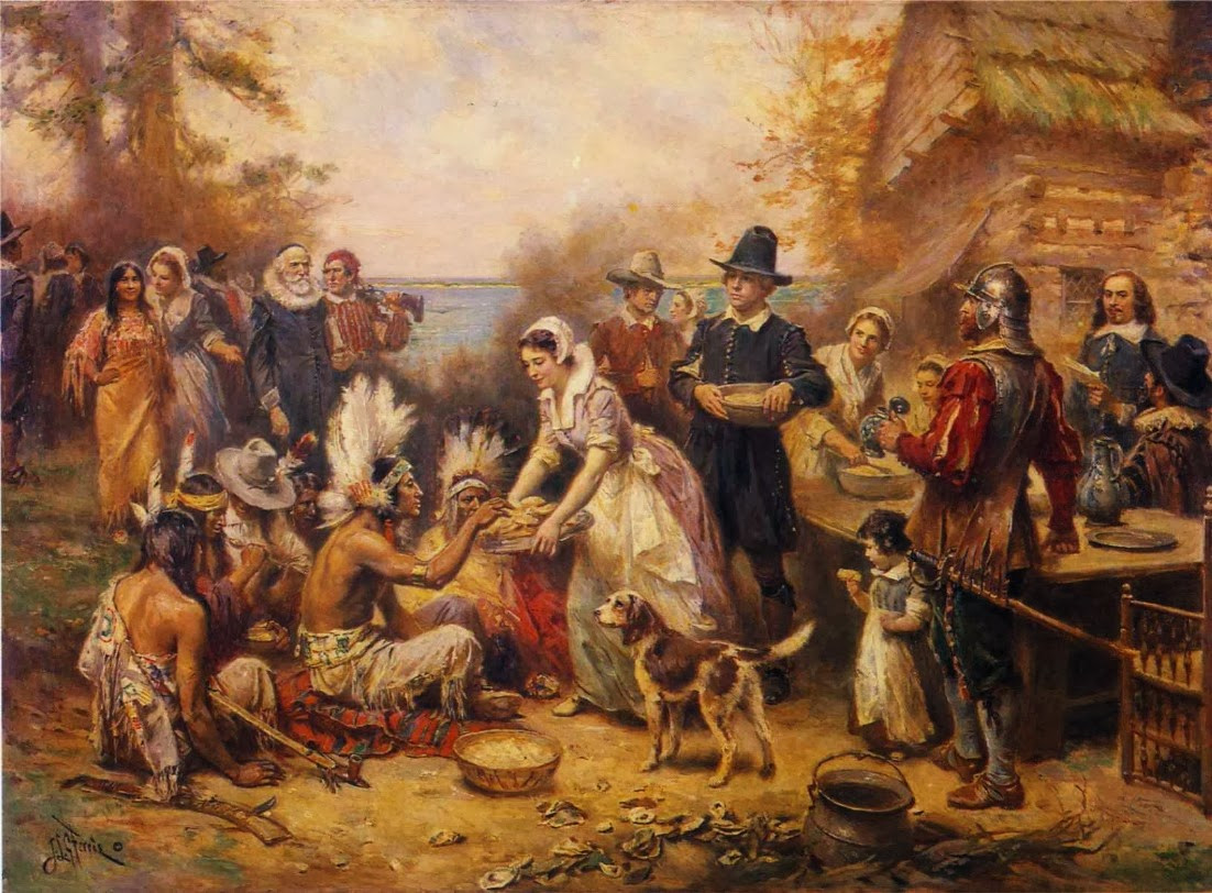 "Was Turkey Served At The First Thanksgiving  Random Noodling Poetry Friday ""Dear Mr Ferris"""