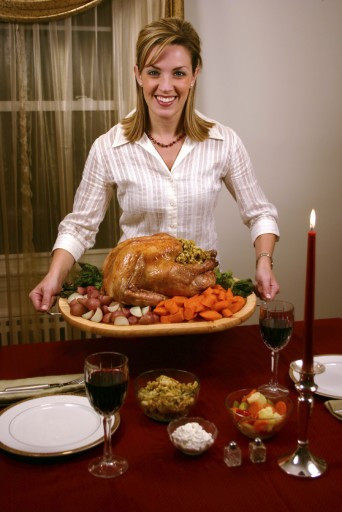 Was Turkey Served At The First Thanksgiving  Should a woman fix her man s plate first or her children s
