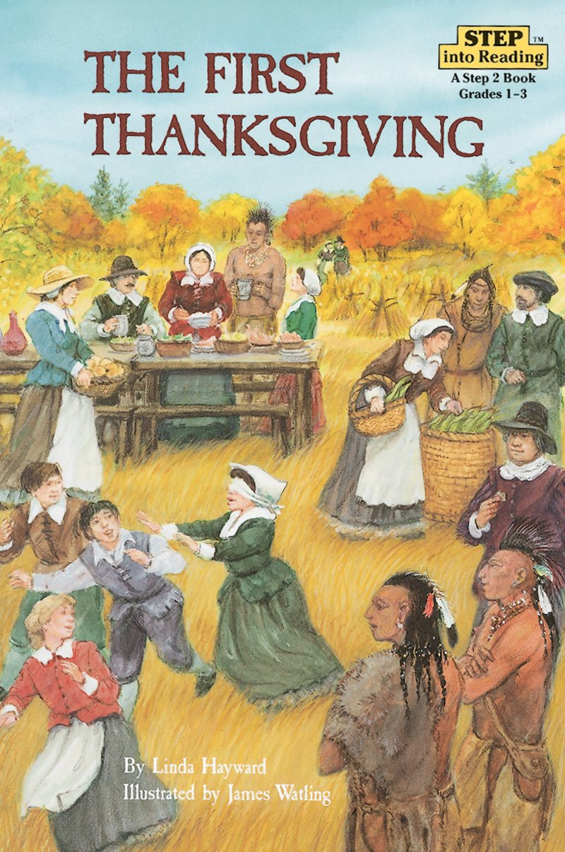 Was Turkey Served At The First Thanksgiving  The First Thanksgiving by Linda Hayward