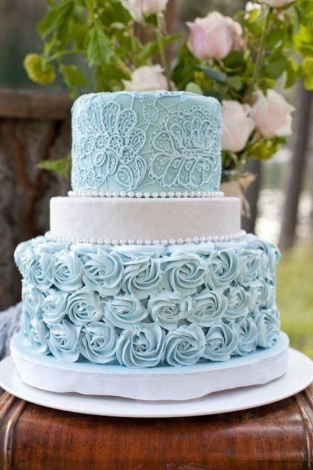 Wedding Cakes Idaho Falls  69 best images about Tiffany Blue Mint Green and Teal