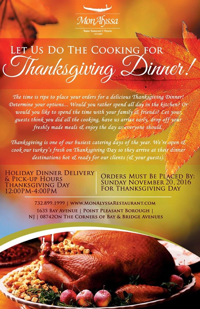 Wegmans Thanksgiving Dinner 2019  Order Catering Now for Thanksgiving 2016