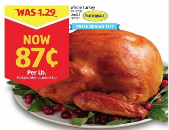 Wegmans Thanksgiving Turkey  pare Local Turkey Prices for Thanksgiving Dinner 2018